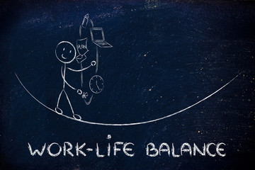 work life balance & managing responsibilities: working father ju