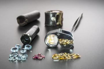 Instruments gemologist