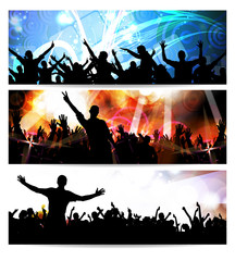 Banners of Party People