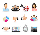 Business and Office - Harmony icon set 01