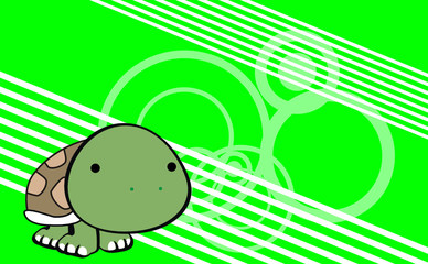 turtle cute baby cartoon background