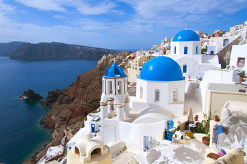 The church on Santorini