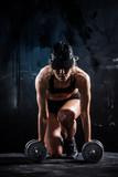 Fitness ze sztangami - 61420902