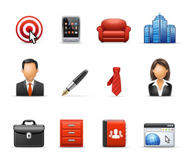 Business and Management - Harmony Icon Set 02