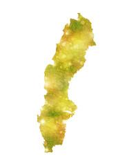 スウェーデン 地図 国