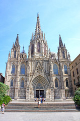 Cathedral of the Holy Cross and Saint Eulalia in Barcelona