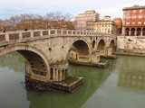 Bridge Ponte Sisto in Rome, Italy.