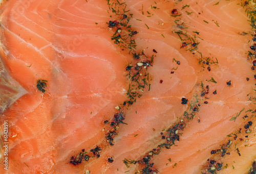 Smoked salmon wallpaper