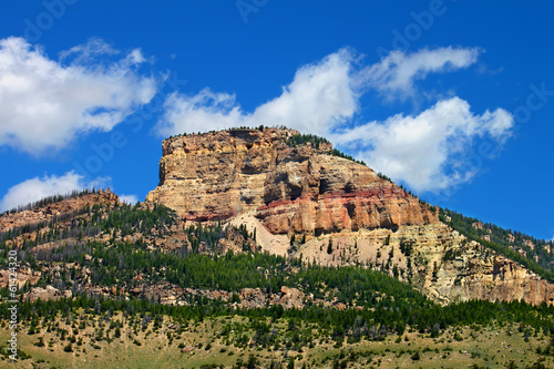 Rugged Mountain Scenery of Wyoming