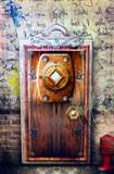 Mysterious door series poster