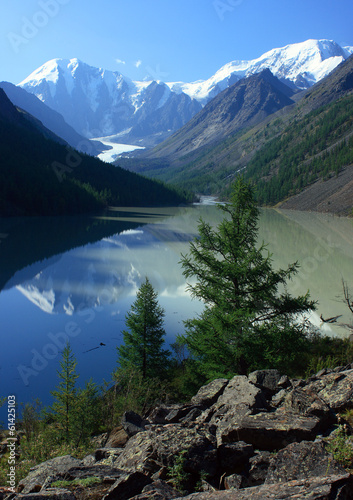 Mountain Altai. Lake Maashej.