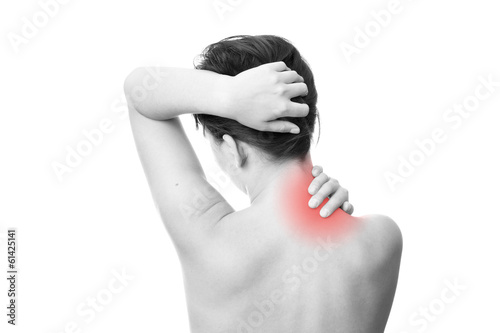 Pain in neck of women