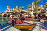 The famous hotel and tourist district of Madinat Jumeirah