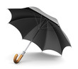Black umbrella