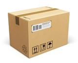Cardboard box - 61425934
