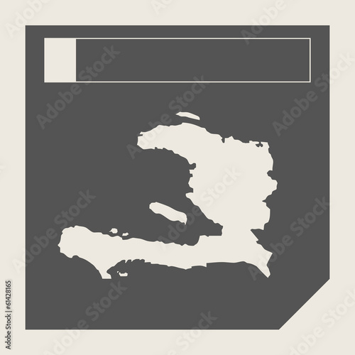 Haiti map button