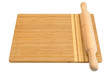 breadboard and rolling pin