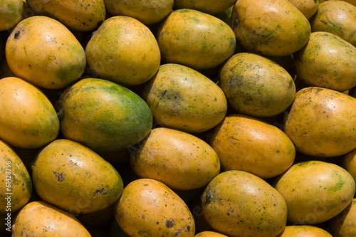 Bunch of mangoes.
