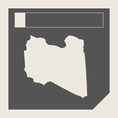 Libya map button