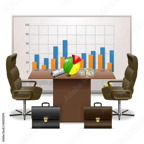 Vector Business Plan Concept
