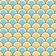 Seamless pattern with circles.