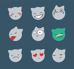 cat smiles