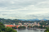 View of Kandy in Sri Lanka