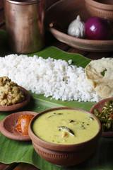 Moru curry or kalan - a traditional kerala dish