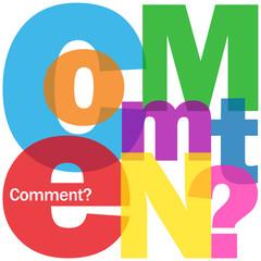 """Mosaïque de Lettres """"COMMENT?"""" (questions réponses pourquoi faq)"""