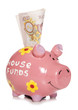 saving money for deposit on a house