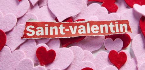 mot saint Valentin