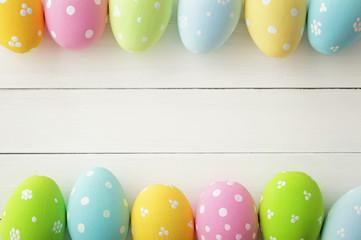 Easter frame background