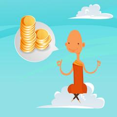 Buddhist Monk talking about money