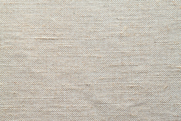 cloth background of rough burlap weave