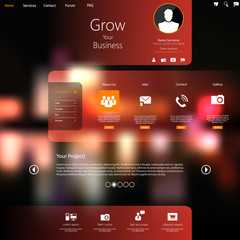 Website Template for business