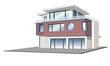 Einfamilienhaus mit Wintergarten, Garage, isoliert