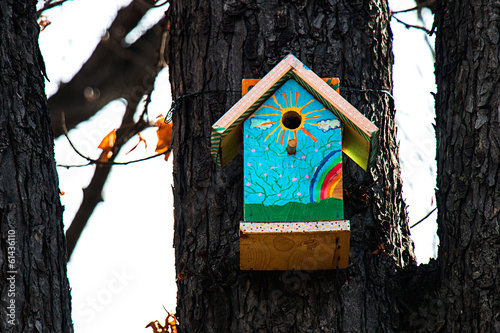 Birdhouse on a tree II