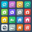 flat house iconset