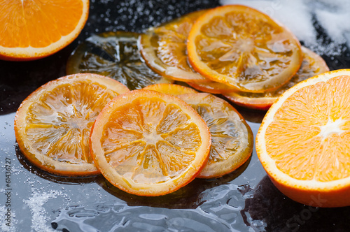 Caramelized Orange Slices