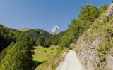 Zermatt, Schweizer Alpen, Wanderung, Furi, Zmutt poster