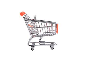 Shopping supermarket cart.