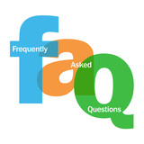 """FAQ"" Letter Collage (frequently asked questions answers faqs)"