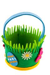 felting basket for easter eggs