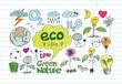 Eco Idea Sketch and Eco friendly Doodles