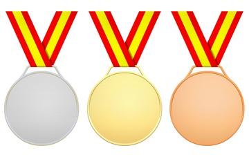Medallas para España