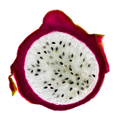 Slice of Pitaya