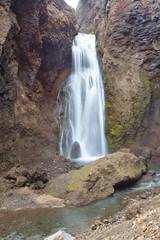 Cascate d'acqua calda in Islanda