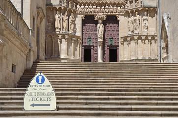 Entrada a la Catedral de Burgos