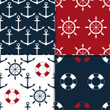 nautical seamless set