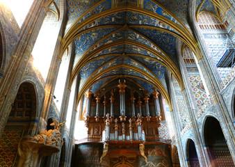 Orgue intérieur de la Cathédrale Sainte-Cécile d'Albi 2